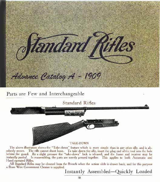 Standard Arms Company 1909 Gun Catalog A