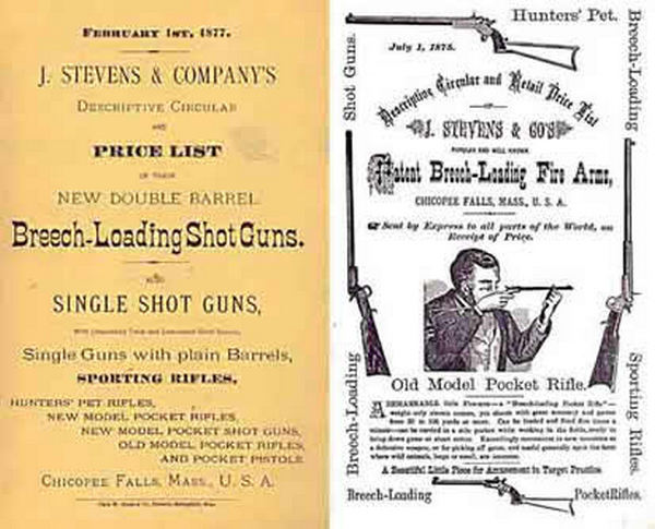 Stevens 1877 and Company Catalog