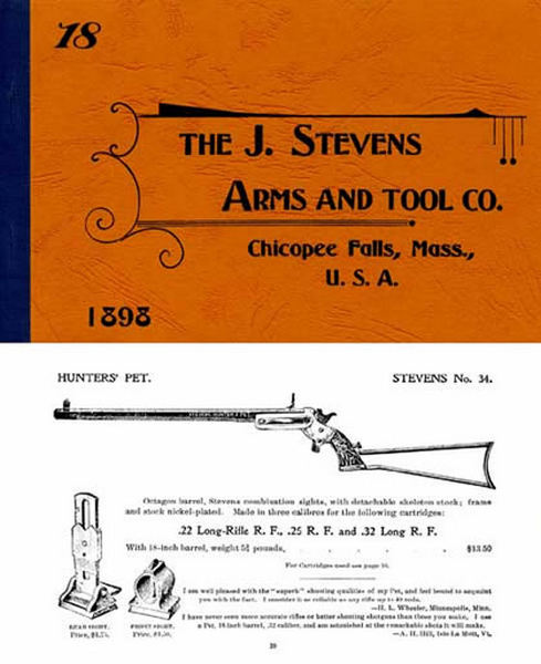 Stevens 1898 Arms and Tools Gun Catalog