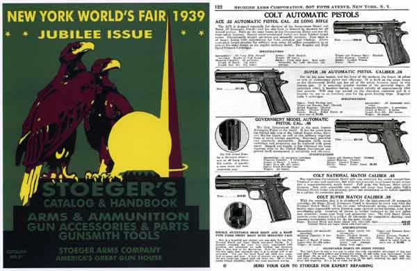 Stoeger 1939 #31 World's Fair Issue Gun and Sports Catalog