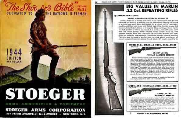 Stoeger 1944 - The Shooter's Bible #35 Gun Catalog