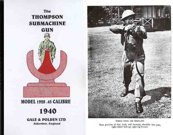 Thompson 1940 Submachine Gun Model 1928 Manual (UK)