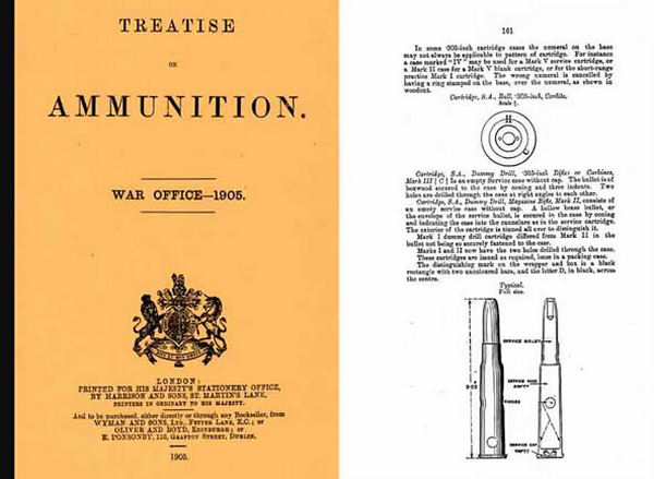 Treatise on Ammunition 1905 (UK)