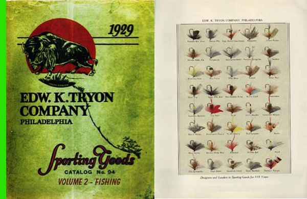 Edw K Tryon Company Sporting Goods 1929 #94 Vol II Fishing