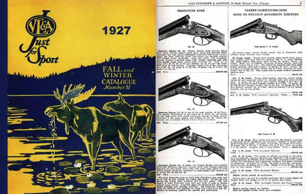 Von Lengerke & Antoine 1927 Gun & Sports Catalog #71 (Chicago)