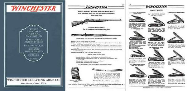 Winchester 1931 Guns, Tools, Cutlery, Knives Catalog - Picture 1