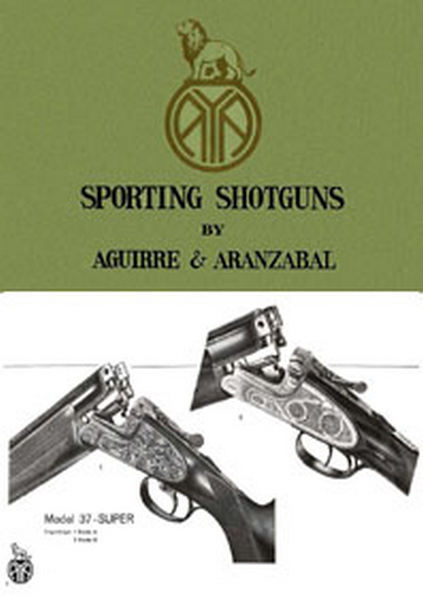 AYA c1975 - Aguirre Y Aranzabal Guns Catalog