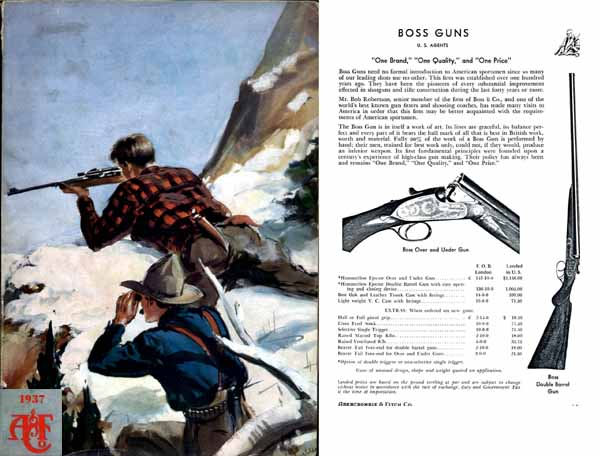 Abercrombie & Fitch Firearms & Sports 1937 Catalog