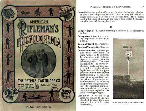 Encyclopedia, American Rifleman's - 1902