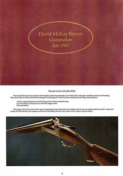 Brown, David McKay Guns c1980 Catalog