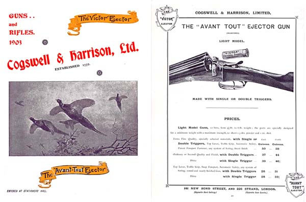 Cogswell & Harrison (UK) 1903 Gun Catalog