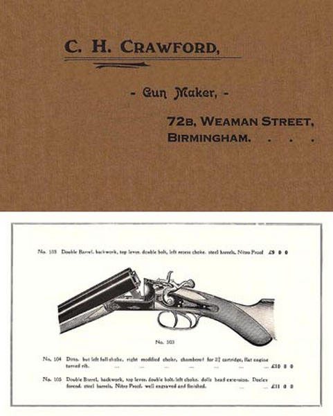 Crawford, CH (UK-Birm) c1935 Gun Catalog