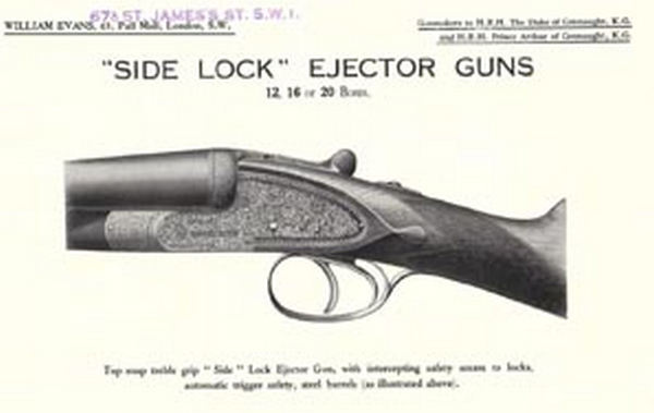 Evans, William (UK-London) c1939 Gun Flyer