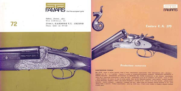 Famars (Italian) Gun 1972 Catalog