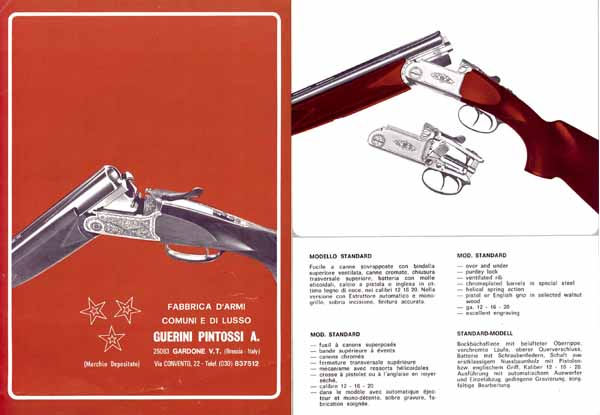 Guerini Pintosi 1976 (Italy) Gun Catalog