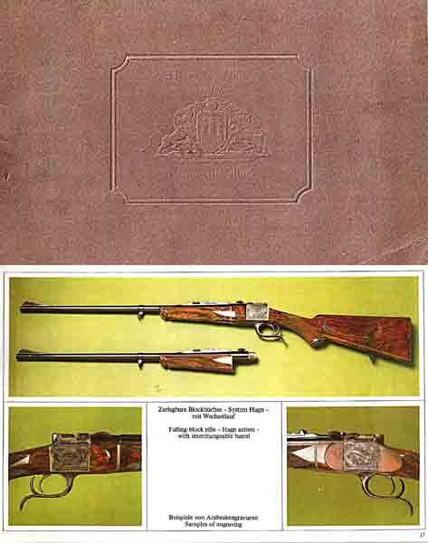 Hartmann & Weiss Gun c1980 Catalog