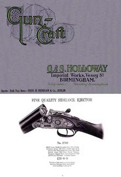 Holloway c1936 (UK-Birmingham) Gun Catalog - Picture 1