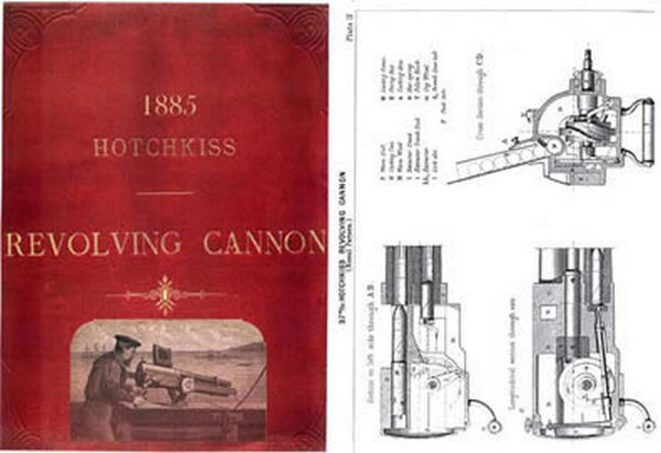 Hotchkiss 1885 Revolving Cannon Catalog
