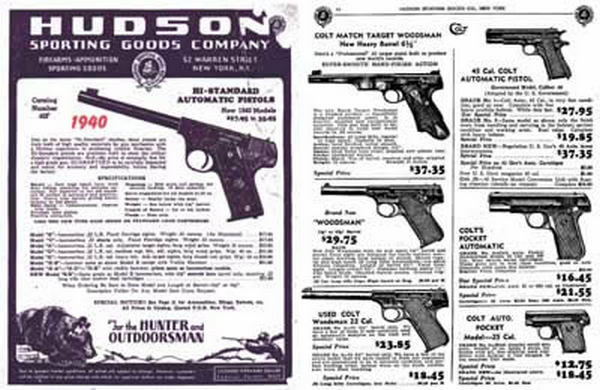 Hudson Sporting Goods 1940 Catalog