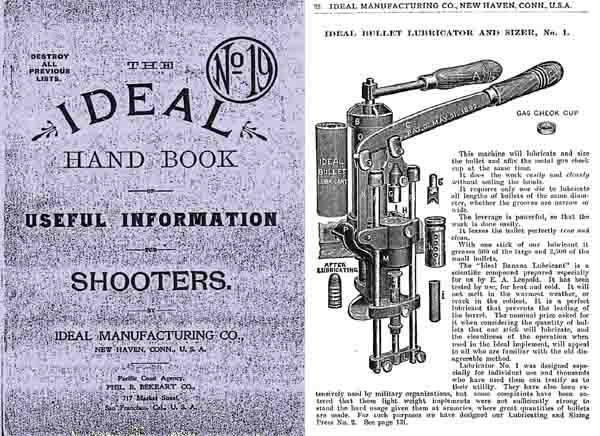 Ideal 1908 Handbook and Catalog No. 19