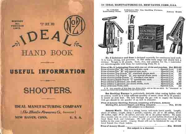 Ideal 1910 Handbook and Catalog No. 21