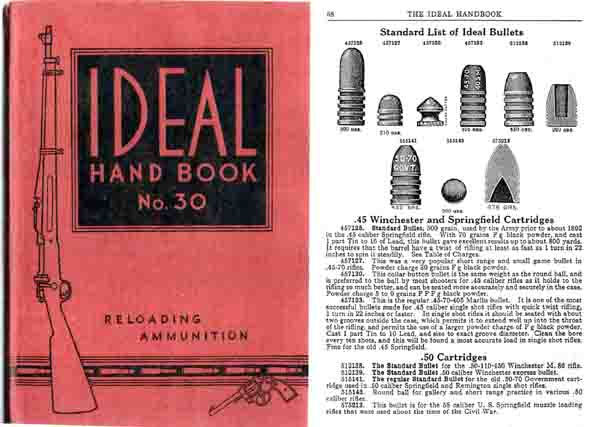 Ideal 1932 Hand Book of Useful Information No. 30 Catalog