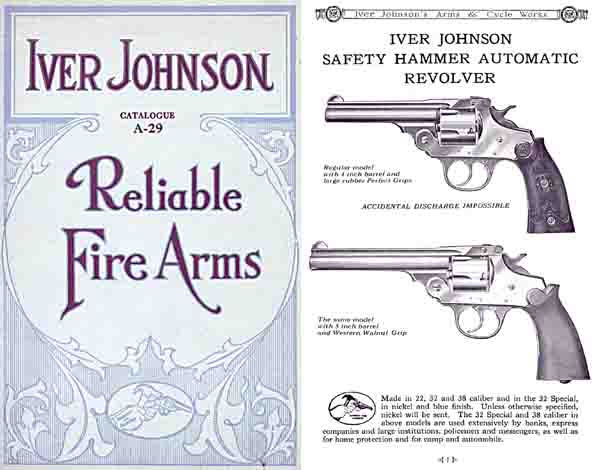 Iver Johnson 1929 Reliable Arms Catalog #A29