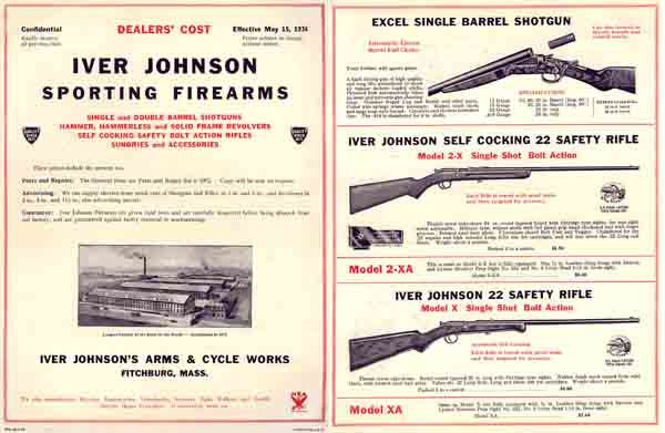 Iver Johnson 1934 Gun Catalog