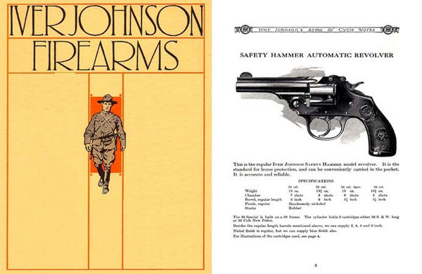Iver Johnson 1937 Gun Catalog