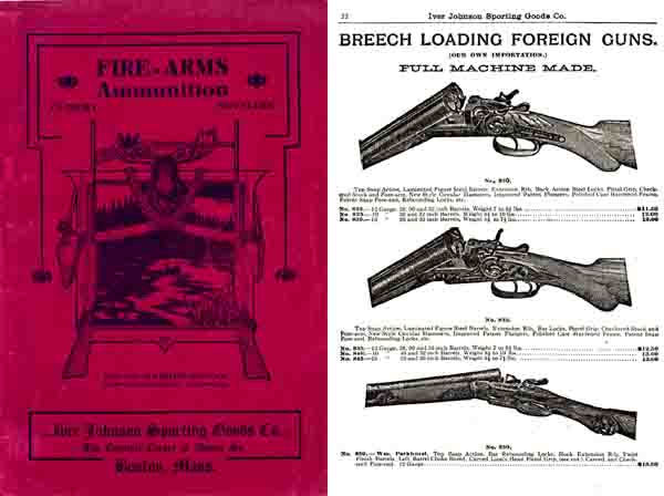 Iver Johnson c1907 Gun & Sports Catalog