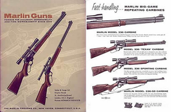 Marlin 1961 Arms UK Catalog