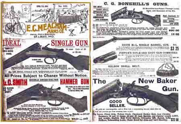 EC Meacham Arms Co. Gun Catalog 1893
