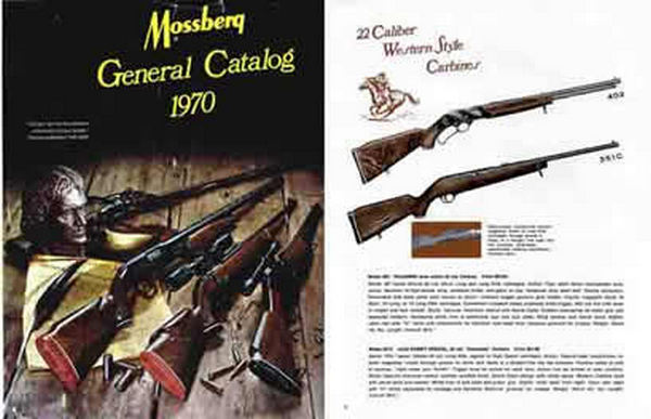 Mossberg 1970 Guns Catalog