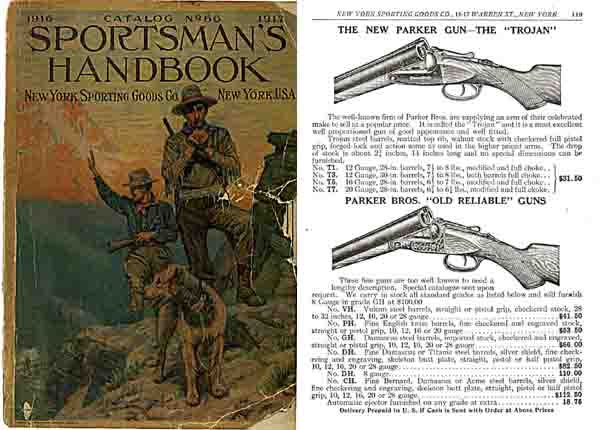 New York Sporting Goods 1916-17 (Early) Catalog