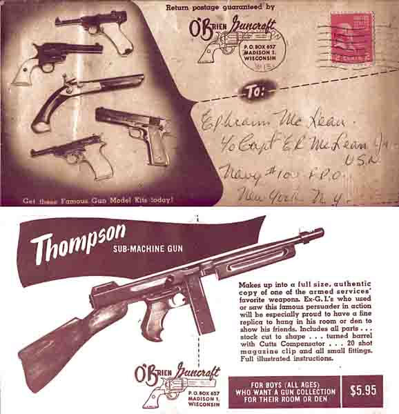 O'Brien Guncraft c1952 Catalog