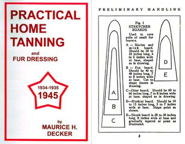 Practical Home Tanning 1945 Guide