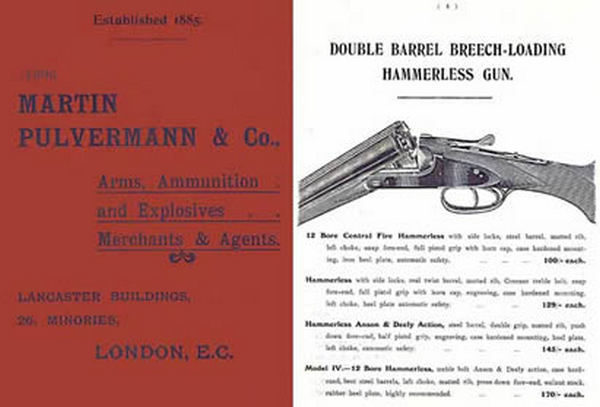 Martin Pulvermann - London c1898 Catalog