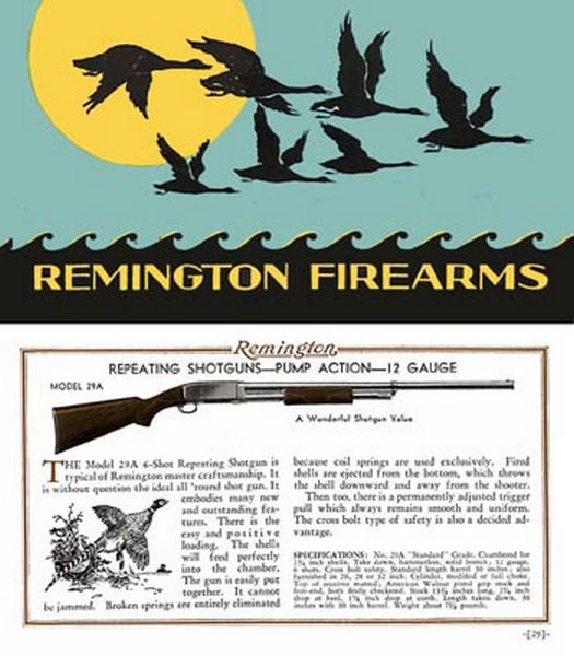 Remington 1932 Firearms Catalog