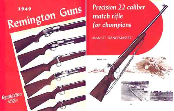 Remington 1949 Gun Catalog
