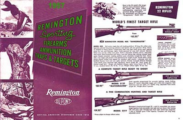 Remington 1957 Arms Catalog