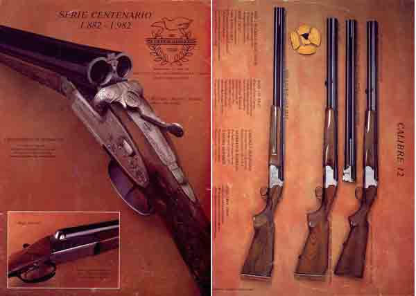 VDA Sarasqueta (Spain) 1982 Gun Catalog