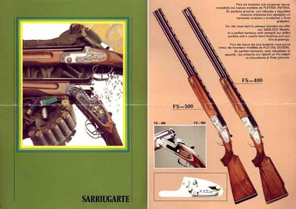 Francisco Sarriugarte c1985 (Spain) Gun Catalog