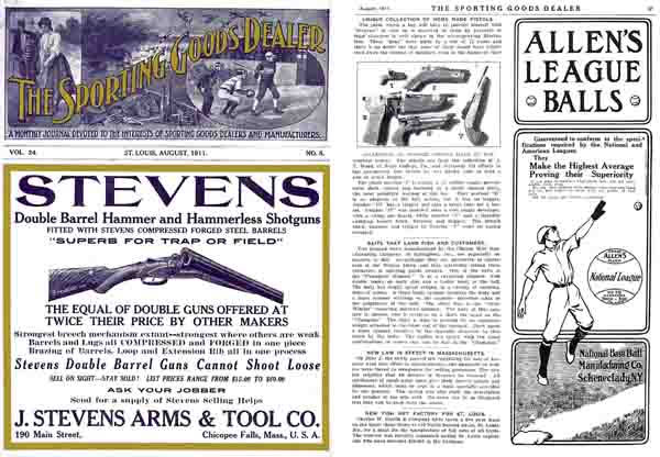 Sporting Goods Dealer - 1911 Catalog (St. Louis, MO)
