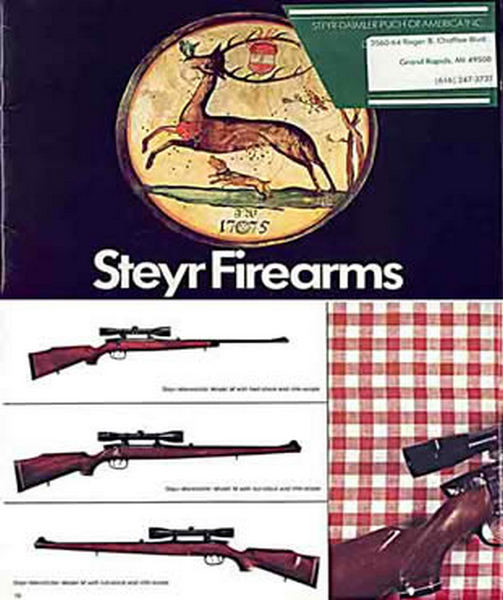 Steyr-Mannlicher Schoenauer Repeating Sporting Rifles- 1978 (in English-Catalog)