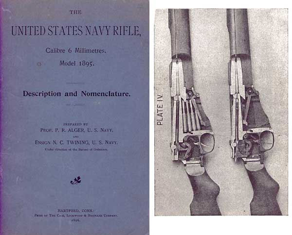 US Rifle Model 1895 Navy Lee Rifle Manual