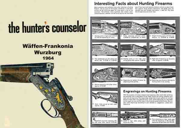 Hunter's Counsellor (The), Waffen-Frankonia 1964 (German) Catalog