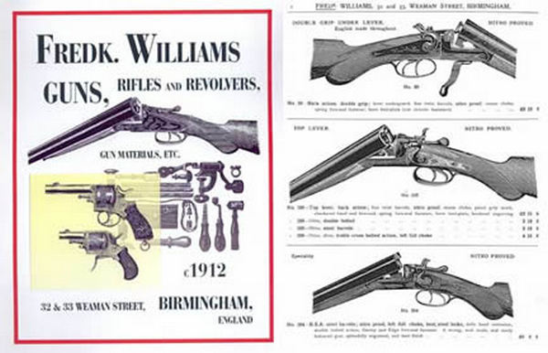 Williams, Fredk, Birmingham, UK 1912