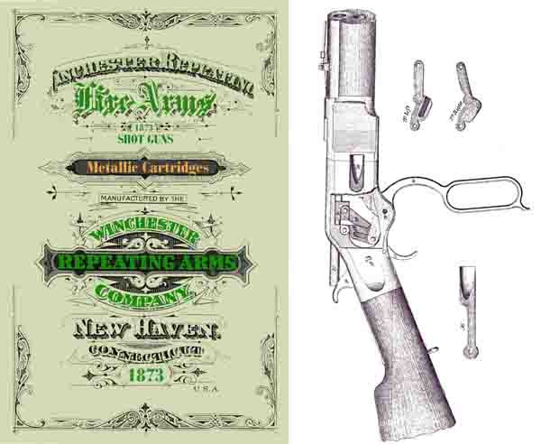 Winchester 1873 Fire Arms Catalog - Picture 1