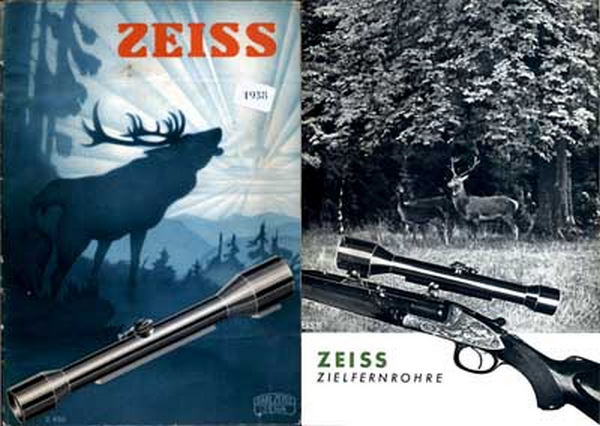 Zeiss (Ger) Rifle Telescopes 1938