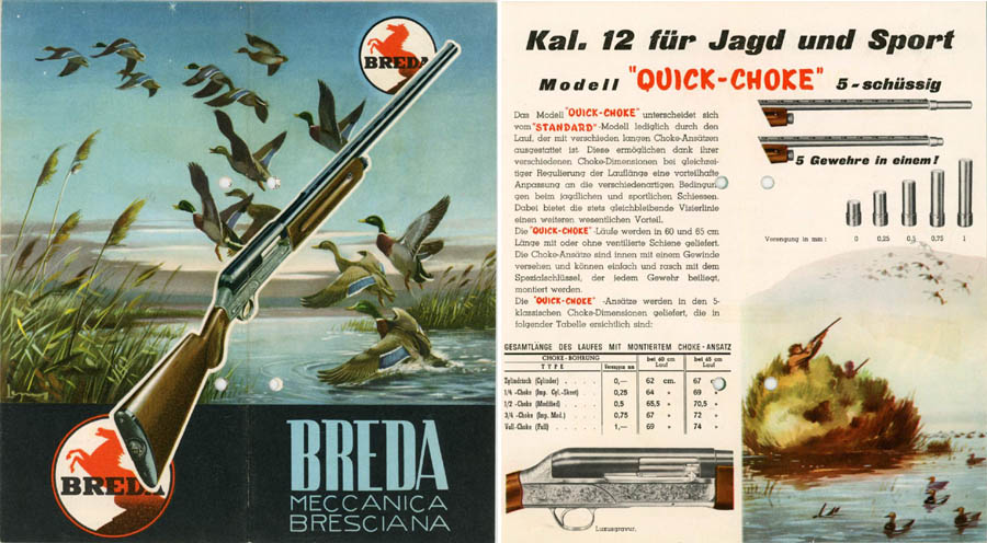 Breda Shotgun Catalog (short- in German)